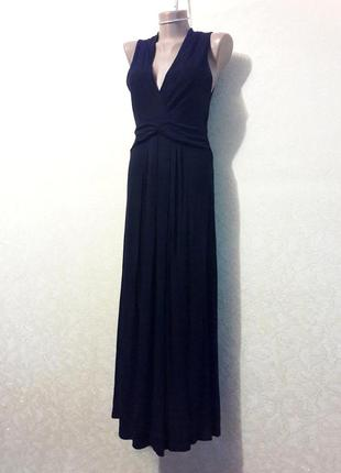 Красивое элегантное стильное черное платье