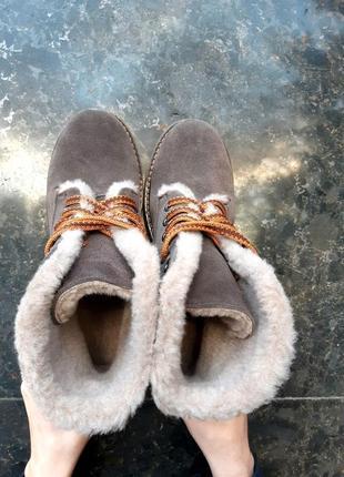 36 37 38 39 40 41 кожаные зимние ботинки