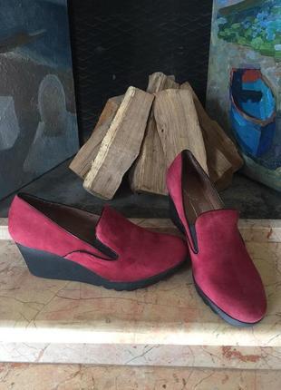 Мегаудобные замшевые туфли donald j pliner р. 40 сша