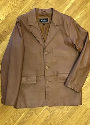 Пиджак, куртка на осень, весну. из эко кожи. patino.