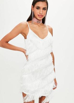 Стильное мини платье missguided