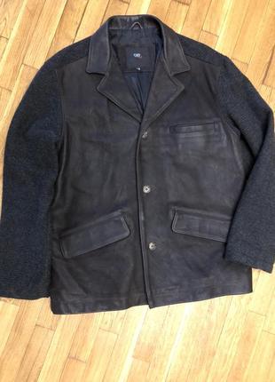 Неимоверно крутая куртка - пиджак. ciao (италия vera pelle)