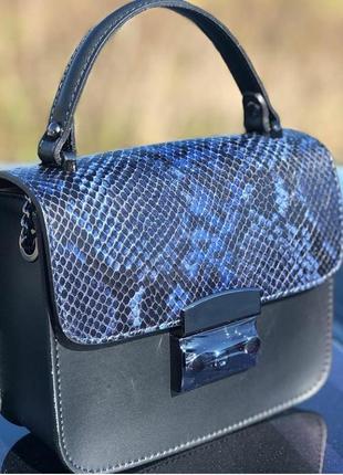 Кожаная сумка (натур. кожа, италия)