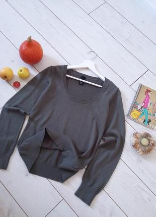 Базовый мягенький свитер cotton