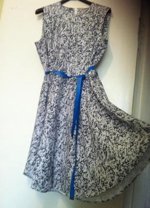 Платье миди клешь расклешонное размер l-xl