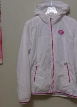 Geox куртка ветровка подростковая детская белая размер 14