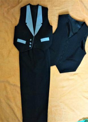 Набор две жилетки+брюки 4-6 лет