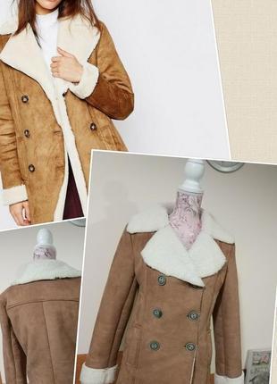 Фирменная стильная качественная лёгкая тёплая дублёнка куртка.