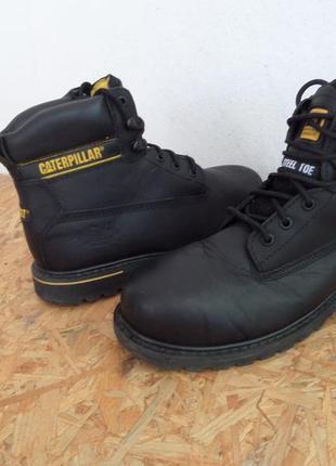 Ботинки caterpillar оригинал натур кожа 42-43 размер,стелька-28,5 см