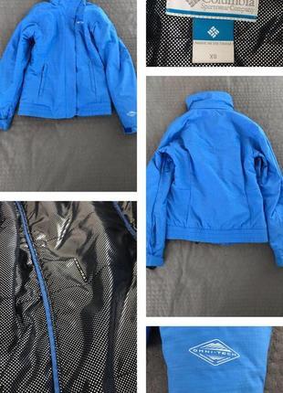 Женская спортивная куртка columbia, xs