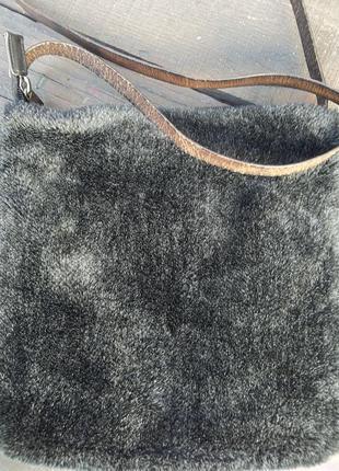 Olsen collection меховая сумка