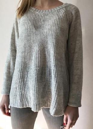 Серый свитер bik bok