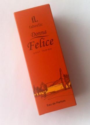Парфюмерная вода для женщин donna felice faberlic