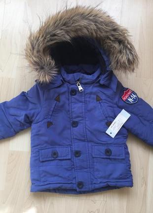 Куртка теплая деми еврозима 9-24 месяца