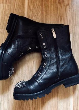 Ботинки кожа maria moro