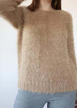 Теплый свитерок травка s-m