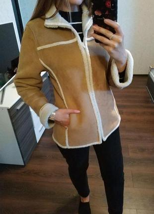 Куртка эко дубленка от berkertex