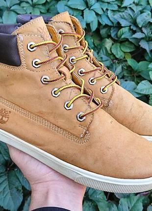 Ботинки кожаные timberland оригинал размер 36
