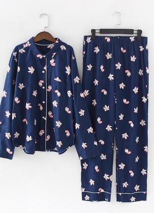 Женская пижама размер m l xl