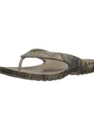 Вьетнамки crocs unisex baya realtree xtra flip-flop р. 36