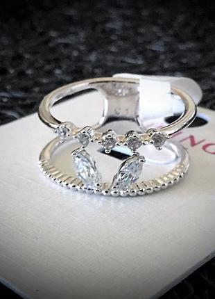 Брендовая ювелирная бижутерия xuping jewelry на каждый день ! новое колечко с фианитами