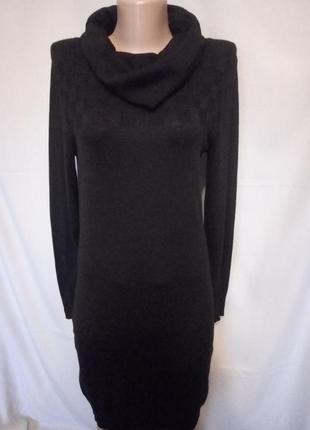 Распродажа!   интересный свитер платье туника гольф под горло