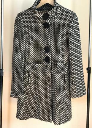 Стильное полушерстяное пальто miss selfridge