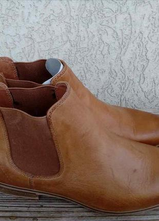 Ботинки челси pier one кожа англия 41р