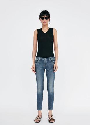 С высокой талией джинсы zara скинни джеггинсы бойфренды джинсы mom jeans