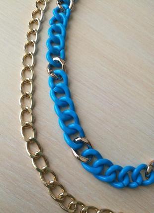 Ожерелье, колье цепи