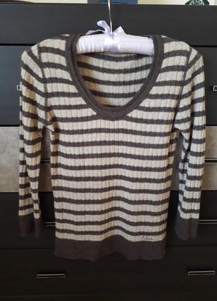 Шерстяная кофта свитер джемпер colin's