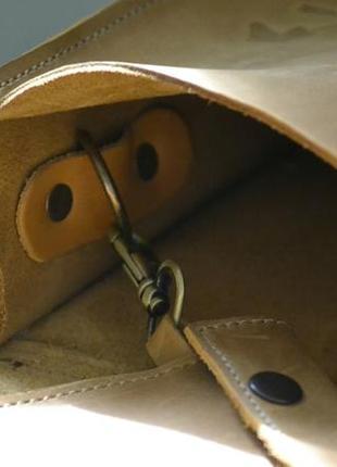 Сумка седло с монетницей из натуральной кожи2 фото