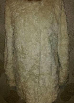 Куртка шубка из искусственного меха