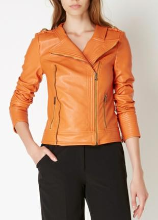 Куртка байкерская xs-s, италия