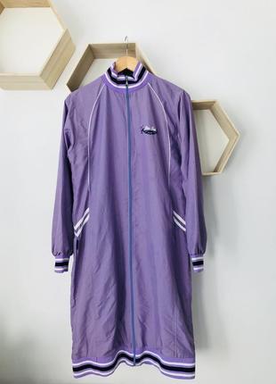 Куртка длинная ветровка бомбер удлиненный