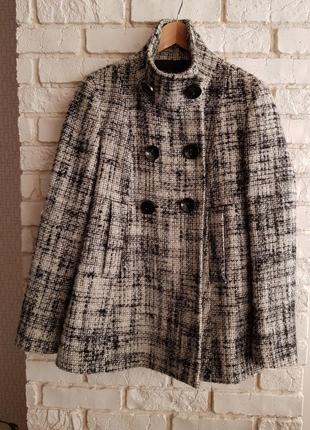 Твидовое пальто pologarage