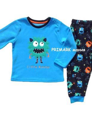 Флисовая пижама  для мальчика (86-98 см) primark