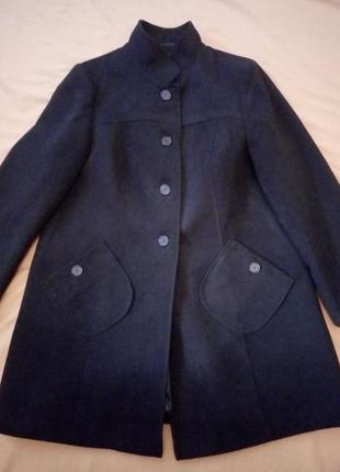 Пальто, полупальто, силуэт трапеция