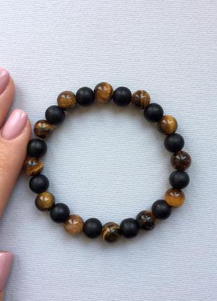 Браслет из натуральных камней, браслет із натурального каміння