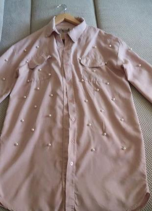 Итальянская хлопковая рубашка