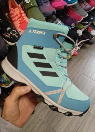 Женские высокие ботинки adidas terrex snow (s80886) оригинал новые, 36, 39, 40
