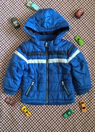 Куртку демисезонная f&f на флисовой подкладке 98 2-3 года