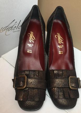 Туфлі италия натуральна шкіра