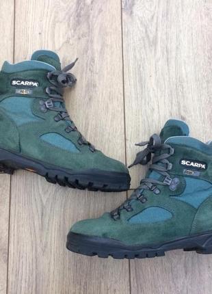Треккинговые ботинки scarpa goretex 38р
