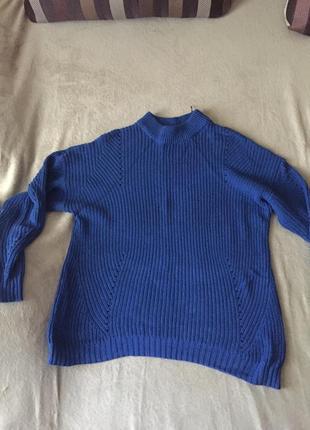 В стиле 70х свитер оверсайз vila свитер с высоким воротом кофта с дырками свитер