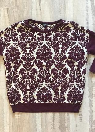 Світер/свитер красивого баклажанового кольору