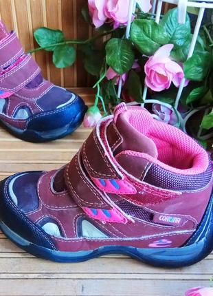 Демисезонные ботинки от cortina 29р.