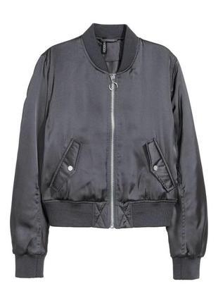 Куртка бомбер h&m, размер s-m