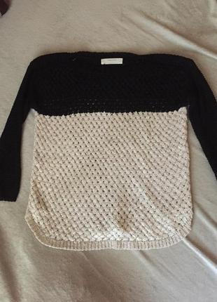 Кольчуга свитер zara оверсайз свитер