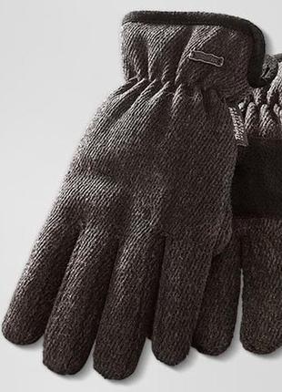 Теплые мужские термо перчатки с шерстью на флисе, thinsulate от tcm tchibo